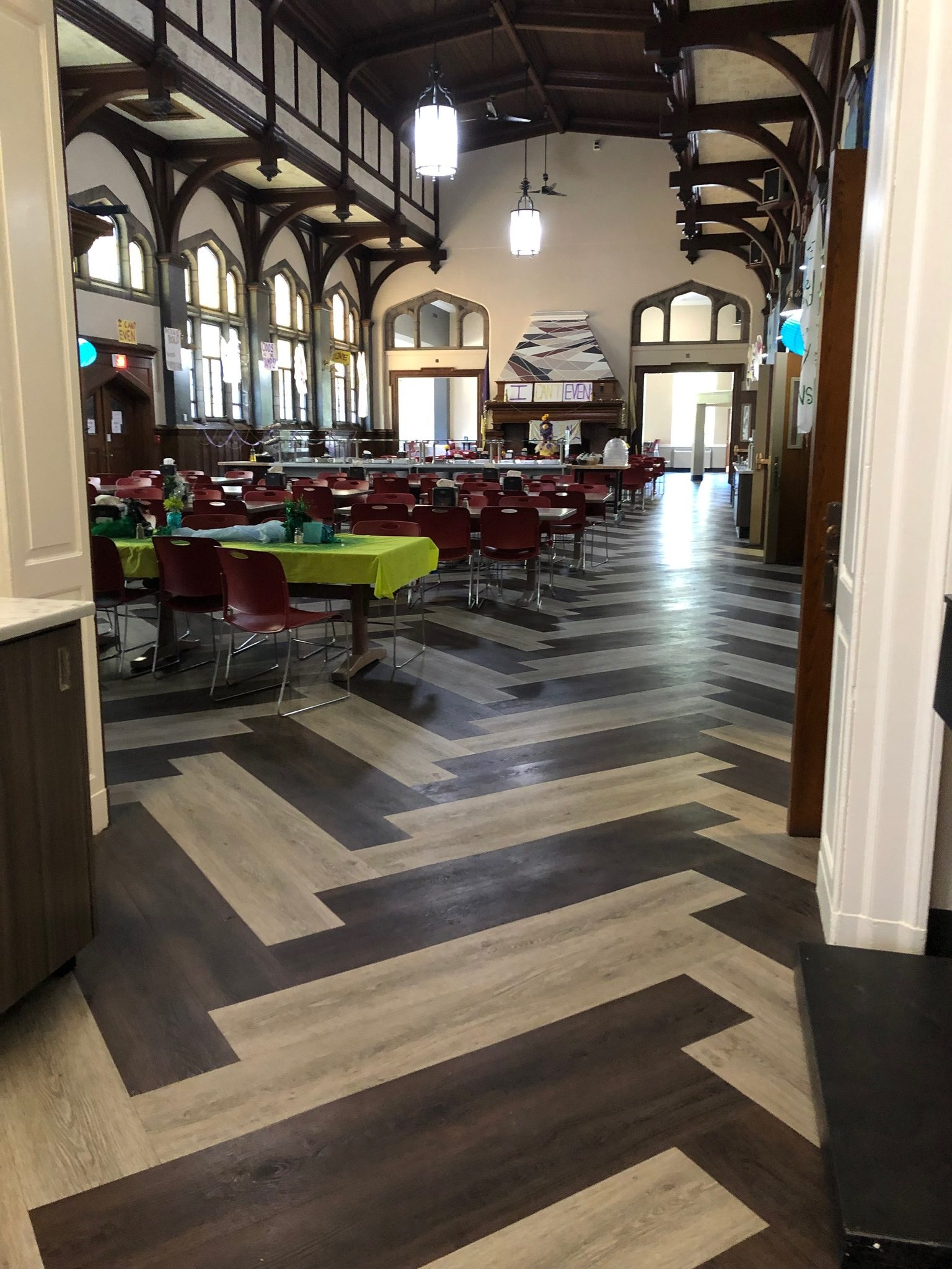 Liberal Arts College Flooring Solutions
