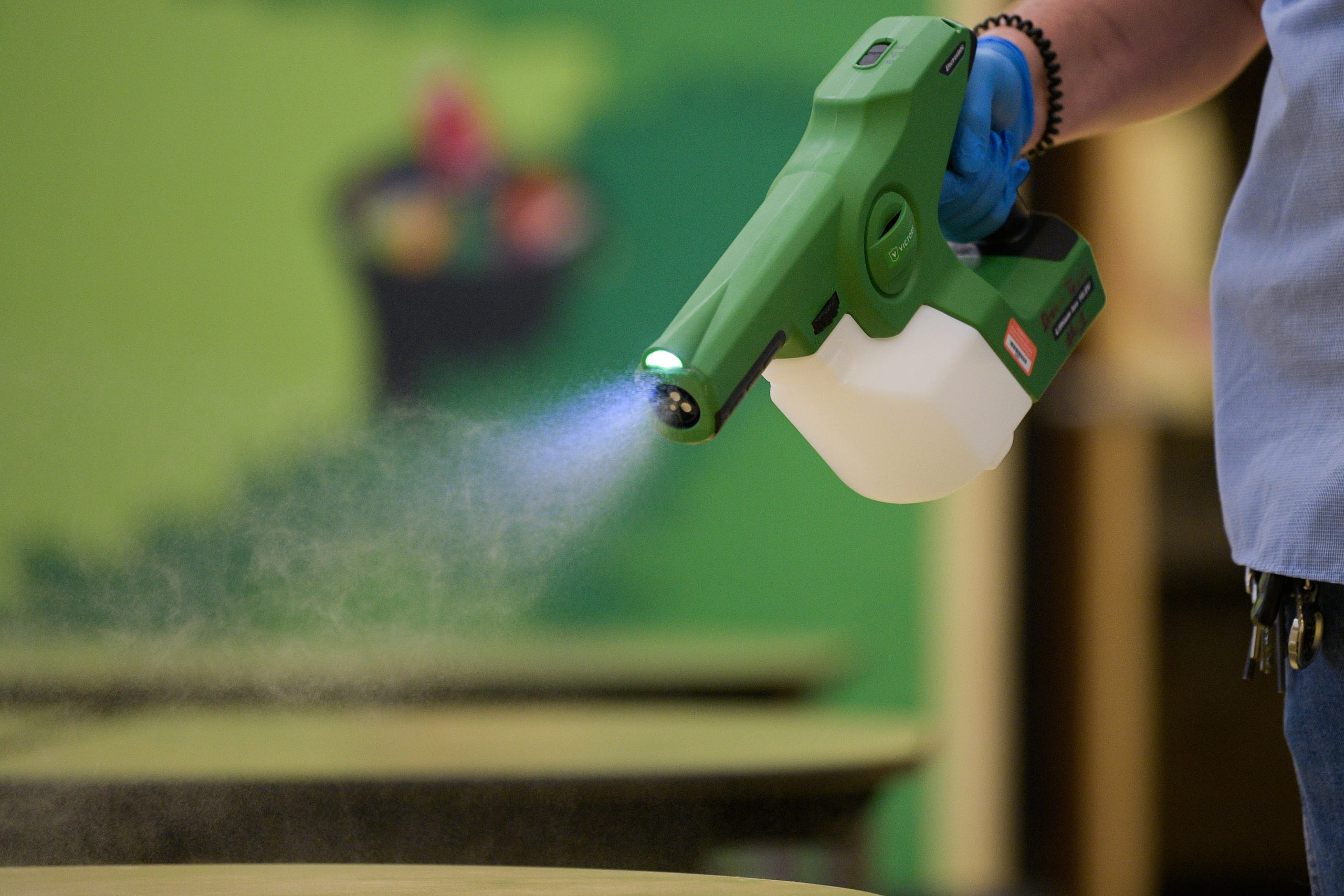 Disinfecting Services and Maintenance
