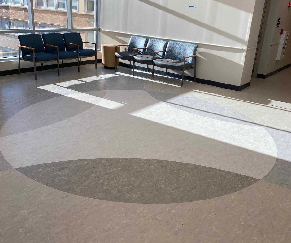 Flooring by GP Flooring Solutions at Rochester General Hospital